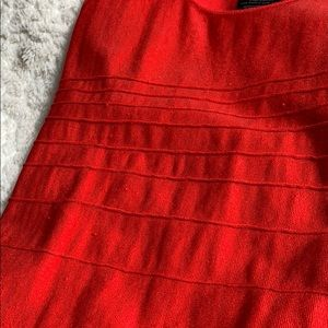 bebe Dresses - Red Bebe bodycon mini dress